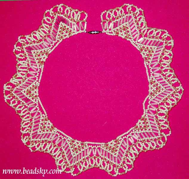 Ожерелья из бисера фото Красочный бисер. .  Для выполнения колье из бисера вам...